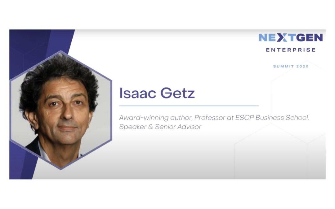 Our talk for THE NEXTGEN ENTREPRISE Summit 2020 (10′)